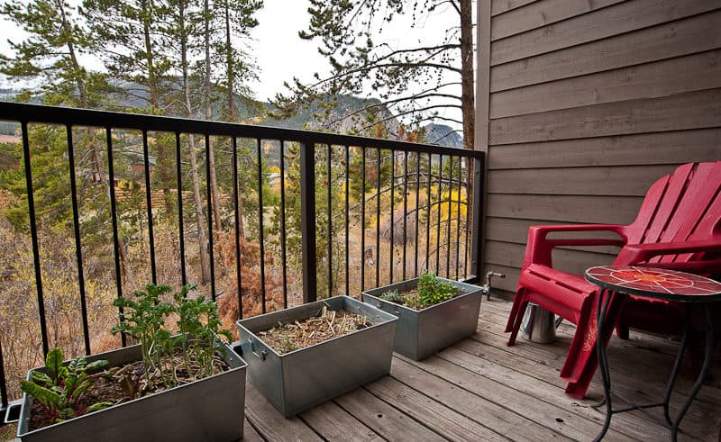 Deck on Entry Level - Frisco Bay Homes Unit 400-B
