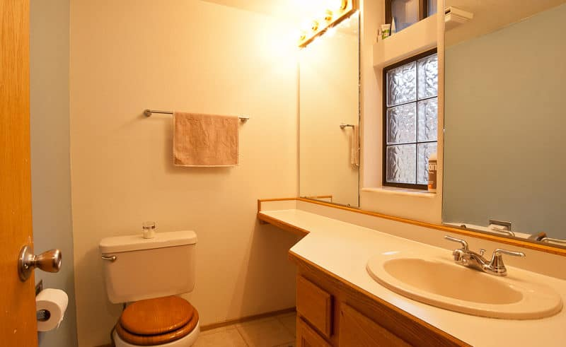Half Bath on Entry Level - Frisco Bay Homes Unit 400-B