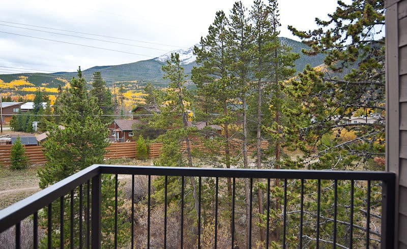 View from Master Bedroom Deck on Upper Level - Frisco Bay Homes Unit 400-B