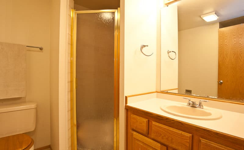 Three-Quarter Bath on Lower Level - Frisco Bay Homes Unit 400-B