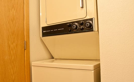 Washer-Dryer on Lower Level - Frisco Bay Homes Unit 400-B