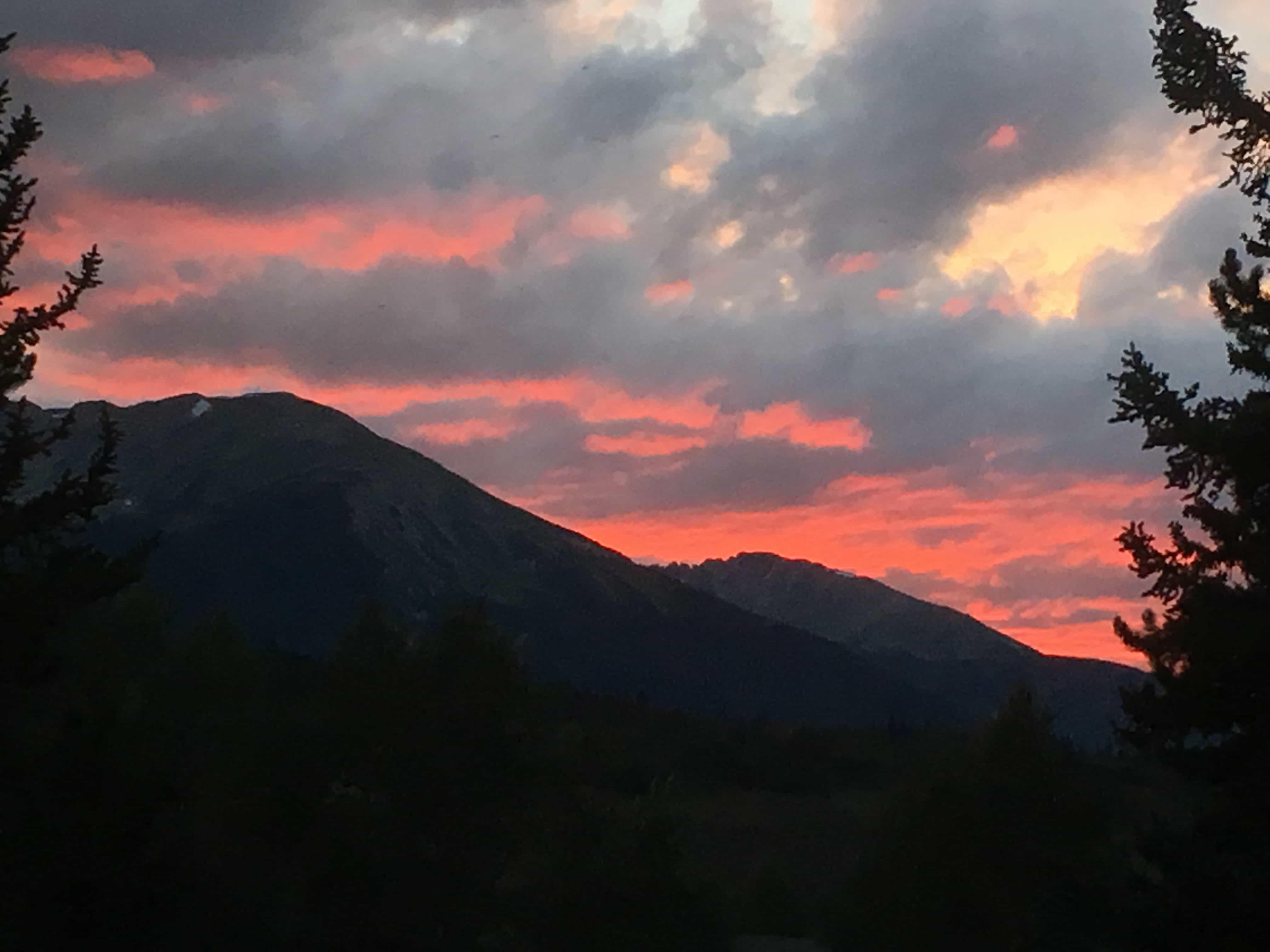 Image of Summit County Sunset