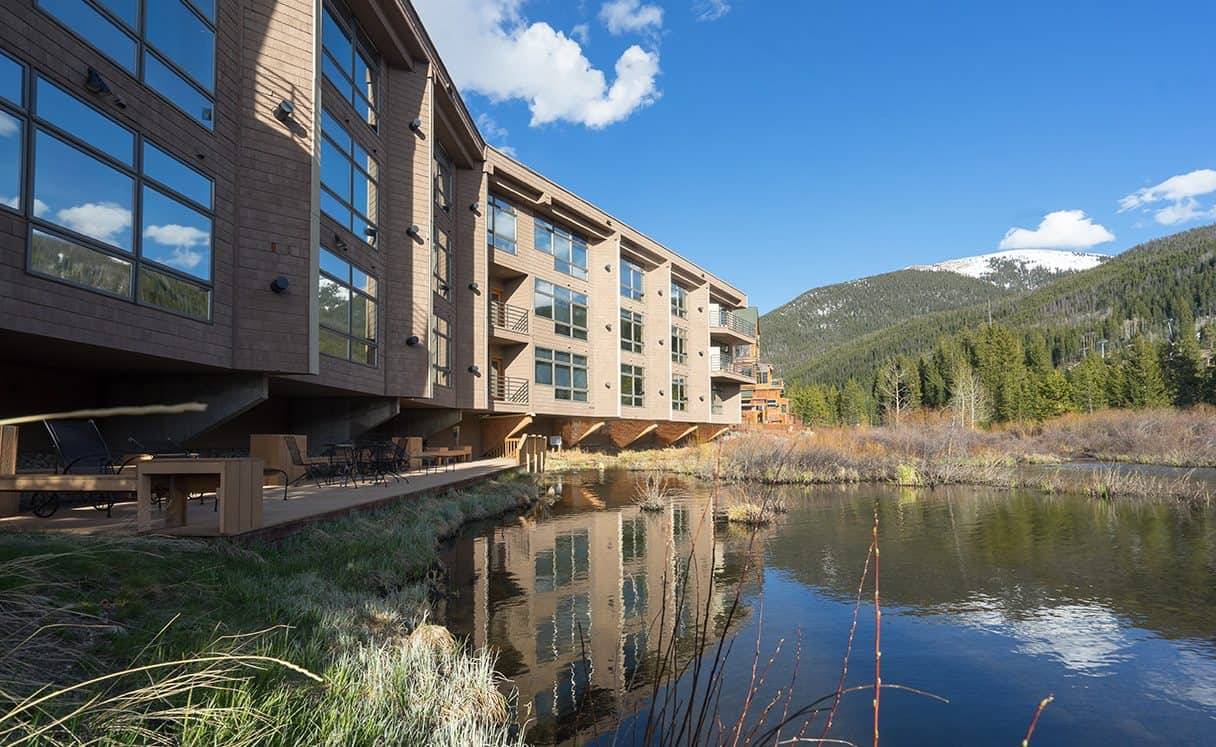 Pond in River Bank Lodge Condo 2903