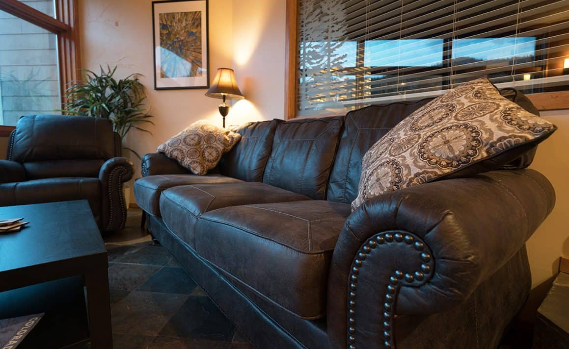 Sleeper Sofa in River Bank Lodge Condo 2903
