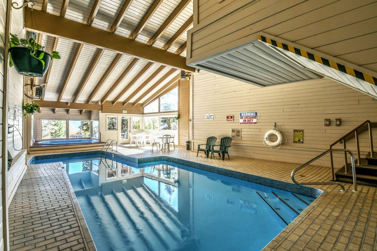 Pool & Hot Tub in CC-DD Building Clubhouse
