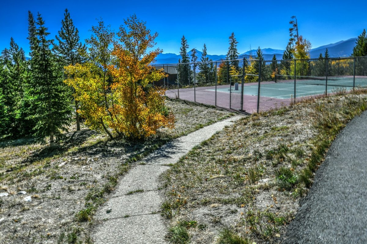 Tennis Court at CC-DD Building