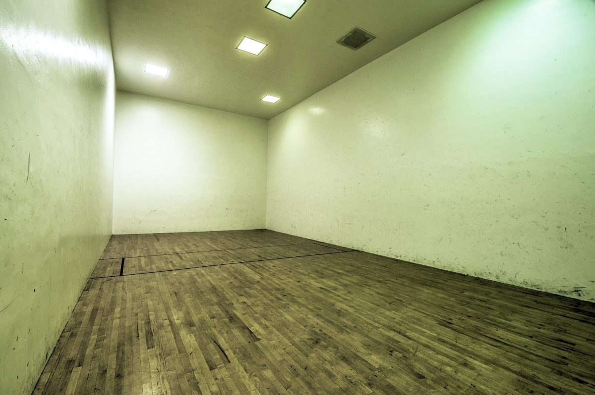 Racquetball Court in AA-BB Building