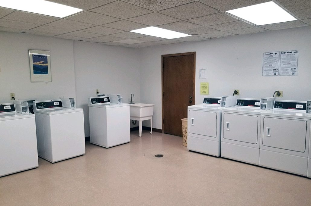 Laundry Room in CC-DD Building