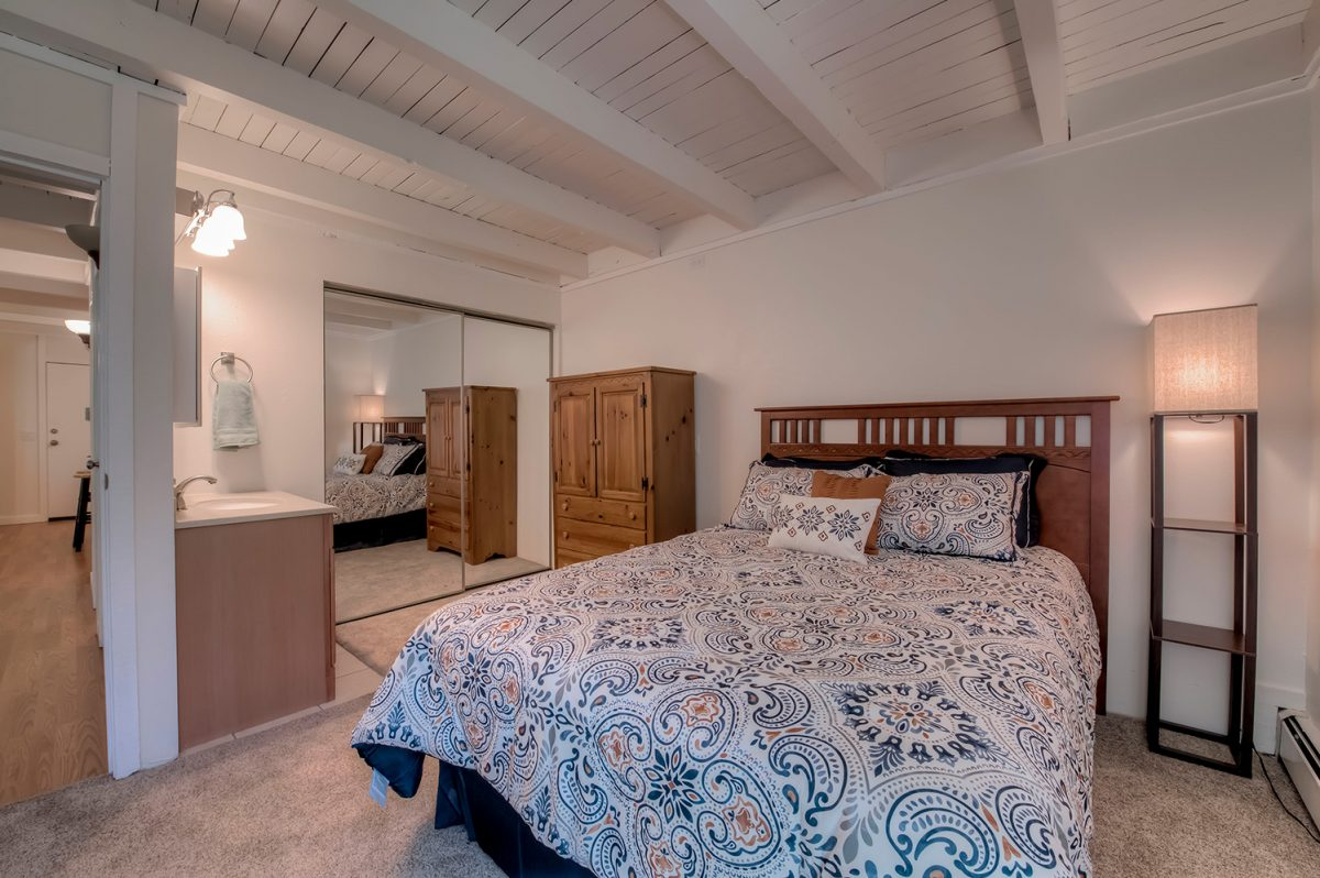 Master Bedroom - Treehouse A-206 Silverthorne Condo for Sale