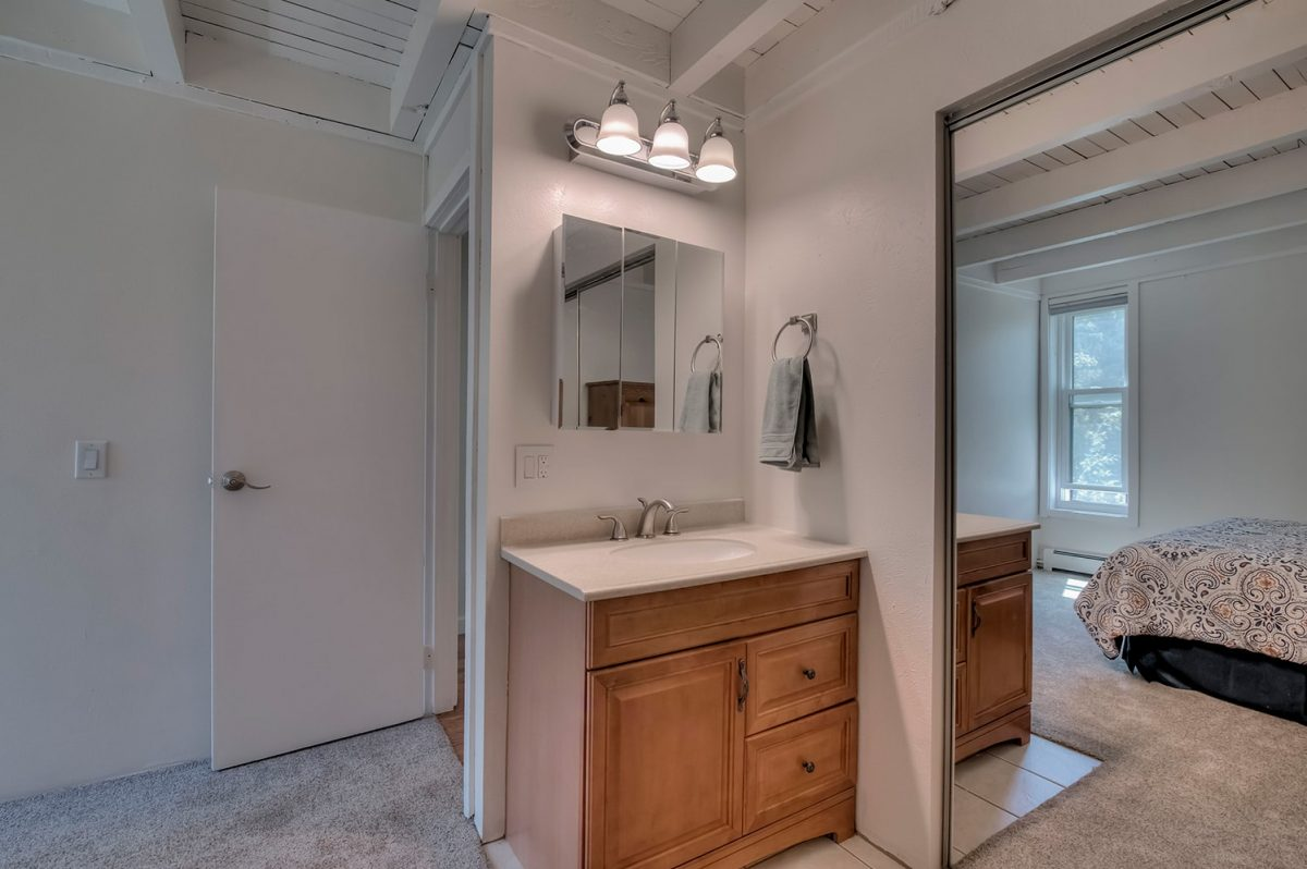 Vanity in Master Bedroom - Treehouse A-206 Wildernest Condo for Sale