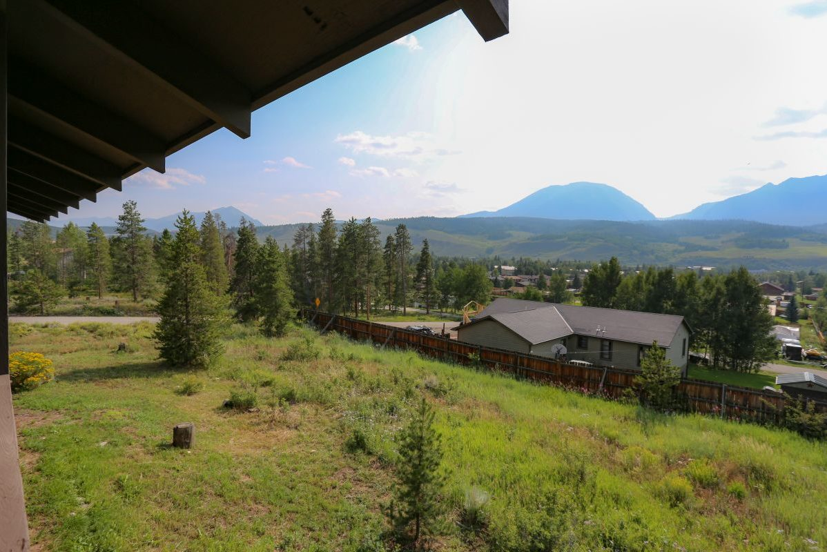 View from Patio & Backyard - 809 Palmers Drive